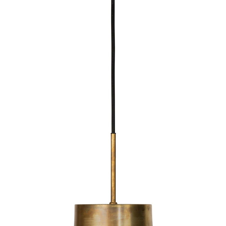 Scandinavian Modern Sabina Grubbeson Fenomen Stor Clear Glass Ceiling Lamp by Konsthantverk For Sale