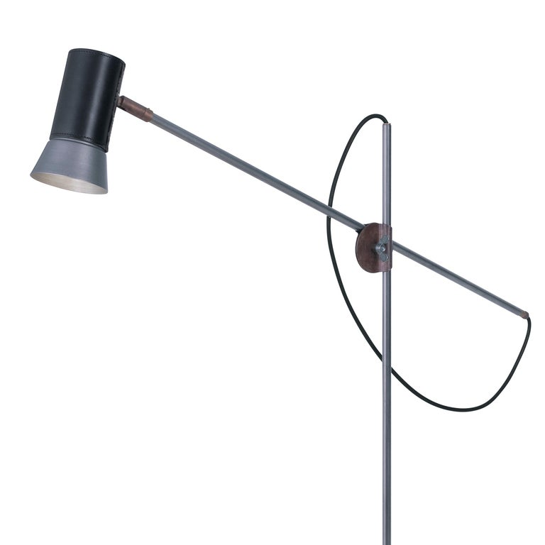 Floor lamp designed by Sabina Grubbeson manufactured by Konsthantverk Tyringe in Sweden.