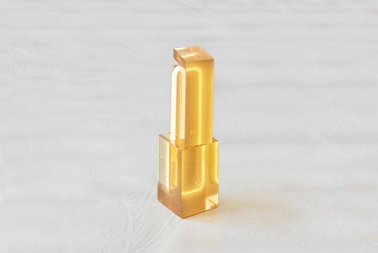 Dutch Sabine Marcelis '1984-' Table Lamp Model TOTEM, Netherlands 2018 For Sale