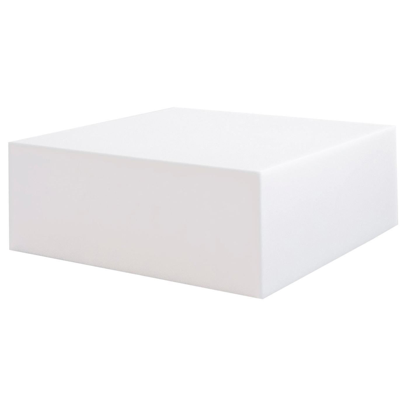 Sabine Marcelis Contemporary Coffee table, Cast Resin White, Rotterdam, 2020