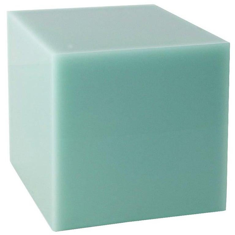 Sabine Marcelis Contemporary High Cast Resin Candy Cube Side Table Night Stand For Sale 1