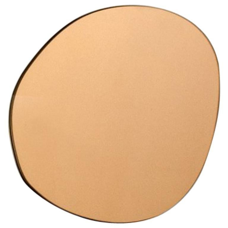 Sabine Marcelis Contemporary Wall Mirror Bronze Netherlands For Sale 1