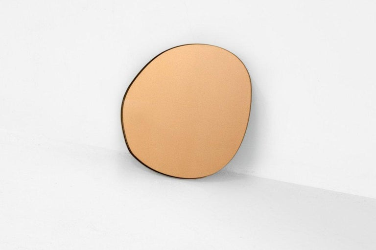 Sabine Marcelis Contemporary Wall Mirror Bronze Netherlands In New Condition For Sale In Barcelona, ES