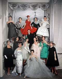Yves Saint Laurent, Premiere Dior Collection, Paris