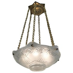 Sabino French Art Deco 1920s Chandelier