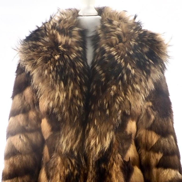 Brown  Sable Coat - Frederic Castet for Christian Dior  For Sale