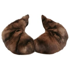 Sable fur collar / scarf