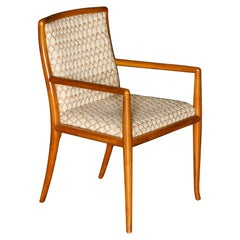 Sabre Leg Armchair by T.H. Robsjohn-Gibbings for Widdicomb, 1950s