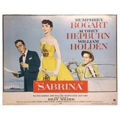 Sabrina Movie Poster, 1955