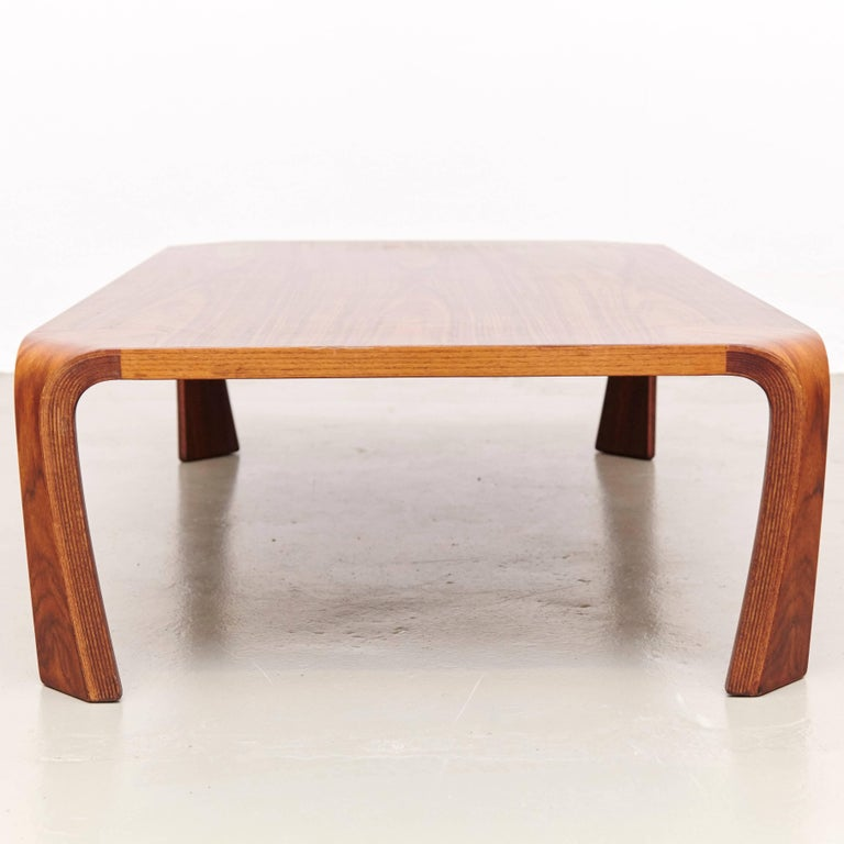 Mid-Century Modern Saburo Inui Coffee Table for Tendo, Japan, circa 1960 For Sale