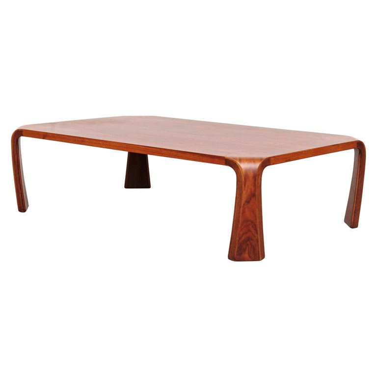 Saburo Inui Coffee Table for Tendo, Japan, circa 1960 For Sale