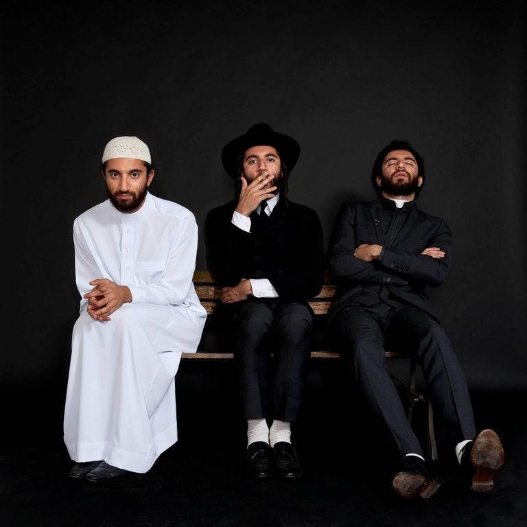 Sabyl Ghoussoub Color Photograph - SELF PORTRAIT (2012)  Ed. 5 / of 7 - CONTEMPORARY PHOTO - IMAM - RABBI  - PRIEST