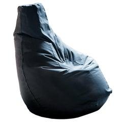 Sacco Easy Chair in Black by Gatti, Paolini, Teodoro