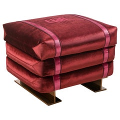 Sacco, Fashion Pouf in Cement Boxes Shape
