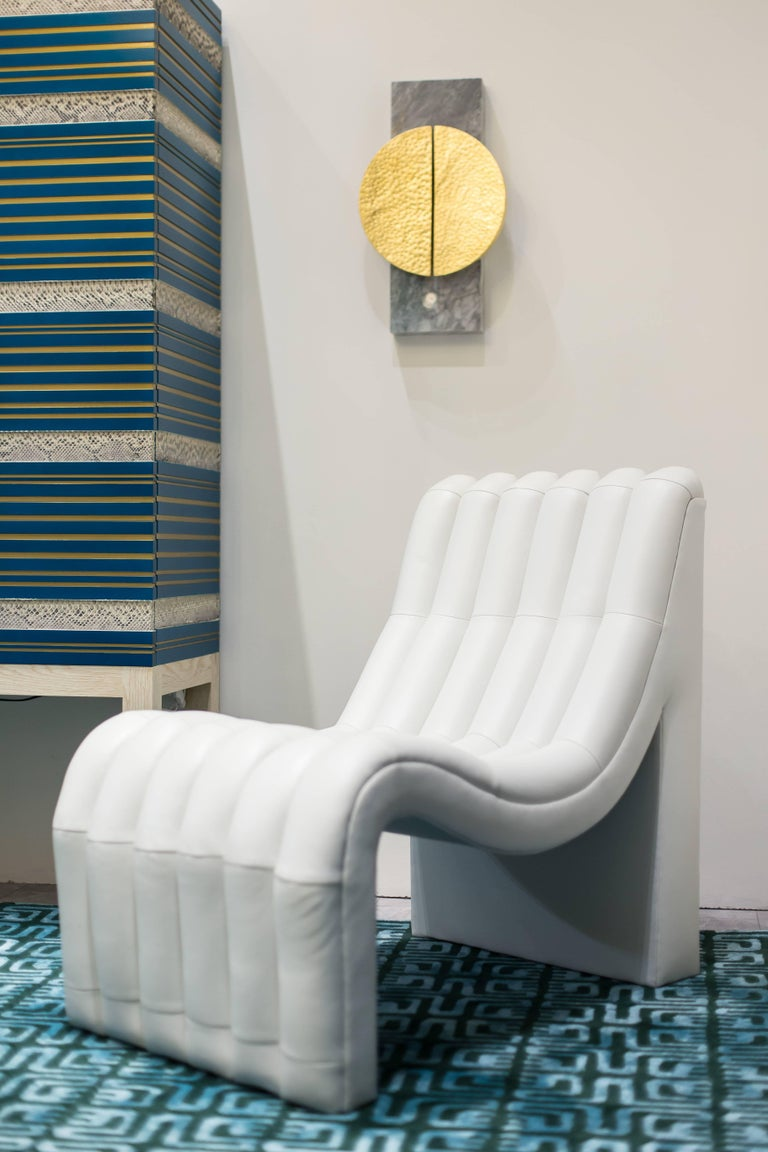 Contemporary Sacha Chair Showroom Sample For Sale