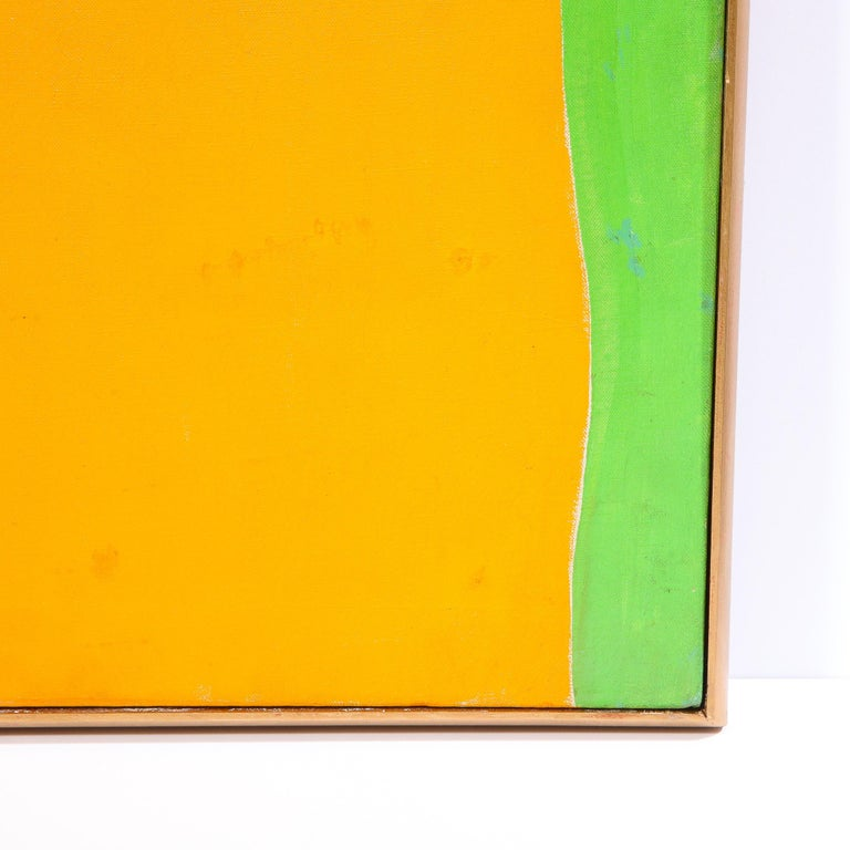 Untitled (Acrylic on Canvas) - Abstract Painting by Sacha Kolin