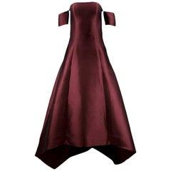 Sachin & Babi Bardot Style Gown US 6