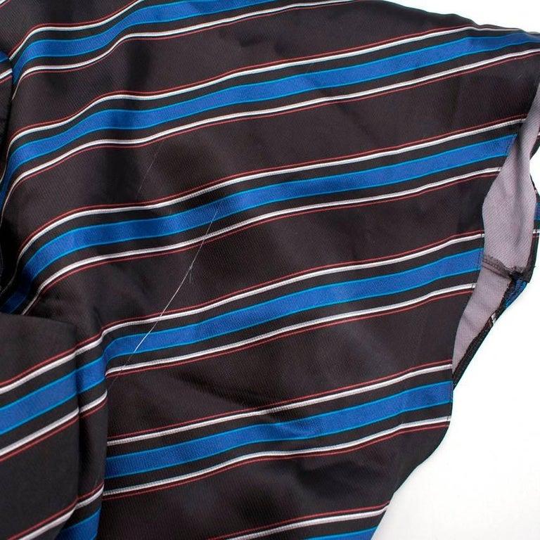 Sachin & Babi Striped Satin-Twill Gown -Estimated UK Size Small 4