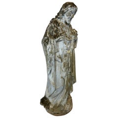 Sacred Heart of Jesus Terracotta Statue