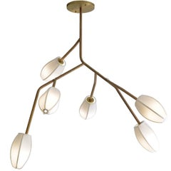 Sacurá Brazilian Contemporary Sculptural Pendant Light by Cristiana Bertolucci