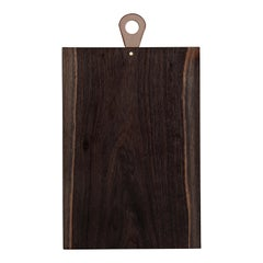 Saddle Cutting/ Serving Board, Rectangle, in Walnut