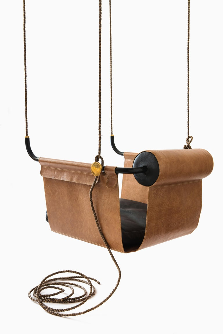 Minimalist Saddle Swing For Sale