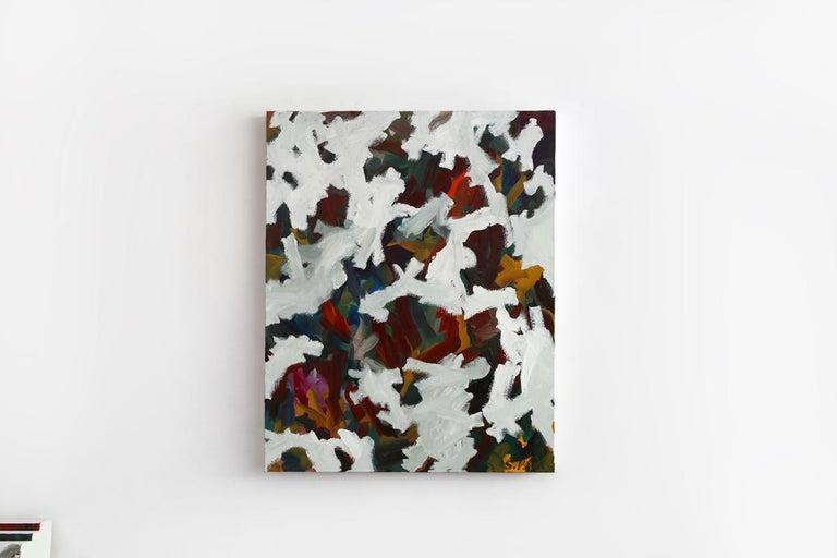 Saehyun Paik Abstract Painting - IPAOC0184