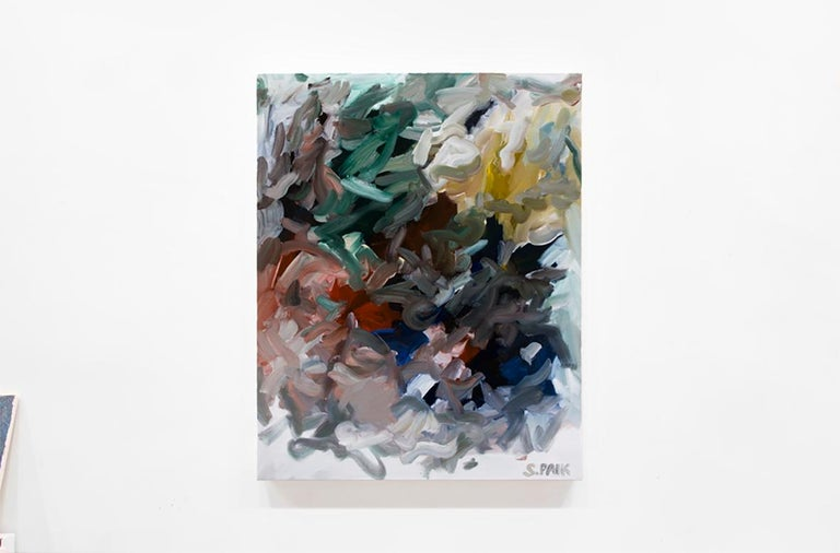 Saehyun Paik Abstract Painting - IPAOC0185