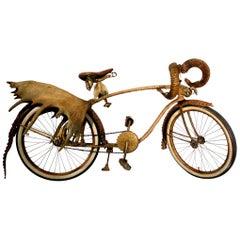 Safari Bike Original Twin 1920 Elgin Model with Horns
