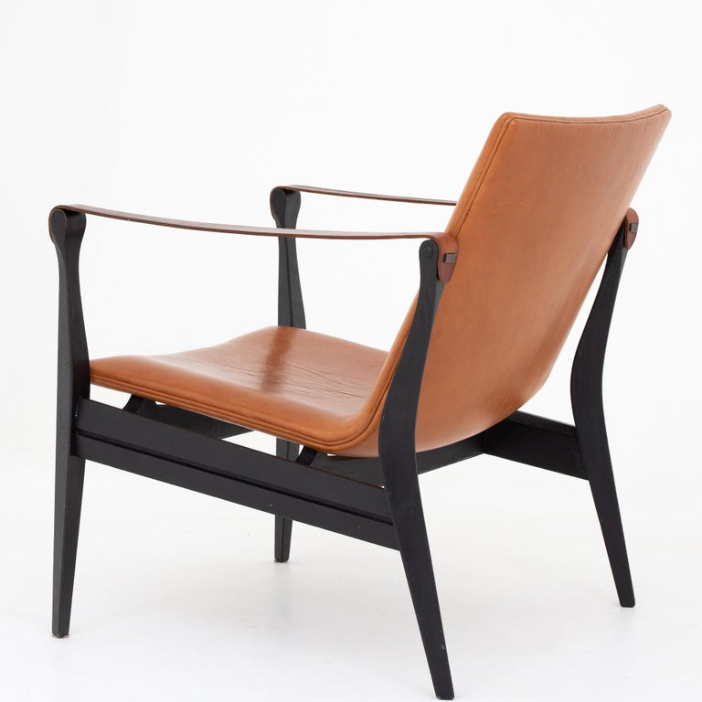 Danish Safari Chair by Karen & Ebbe Clemmesen For Sale