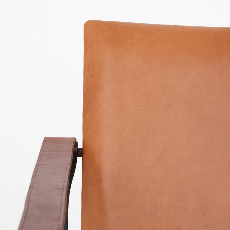 Painted Safari Chair by Karen & Ebbe Clemmesen For Sale
