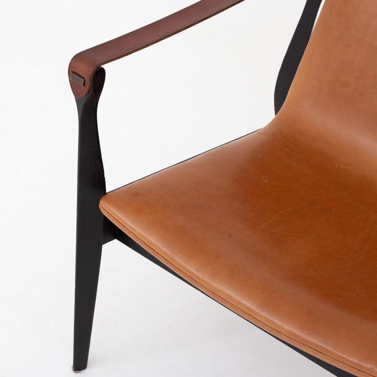 Safari Chair by Karen & Ebbe Clemmesen In Good Condition For Sale In Copenhagen, DK