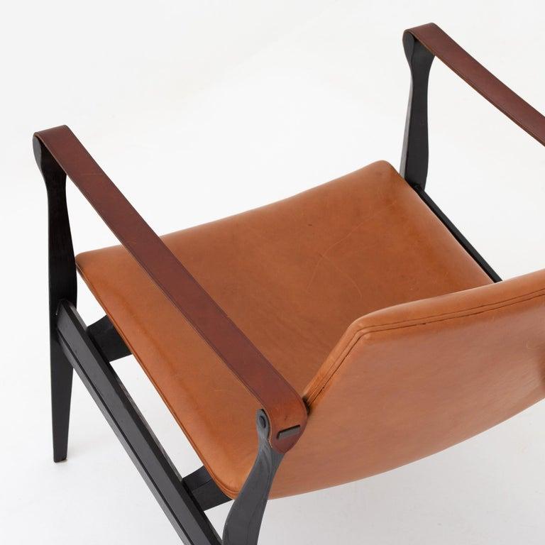 Ash Safari Chair by Karen & Ebbe Clemmesen For Sale