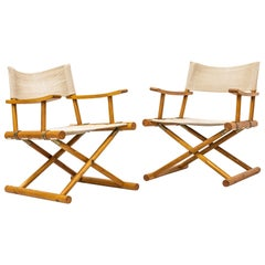 Safari Chairs by Sune Lindström for Nordiska Kompaniet