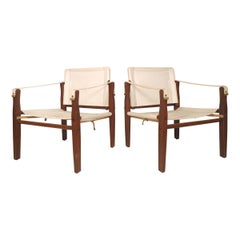 Safari Style Midcentury Chairs