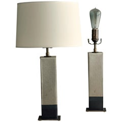 Sag Harbor Lamp, Ceramic Sculptural Table Lamp by Dumais Made