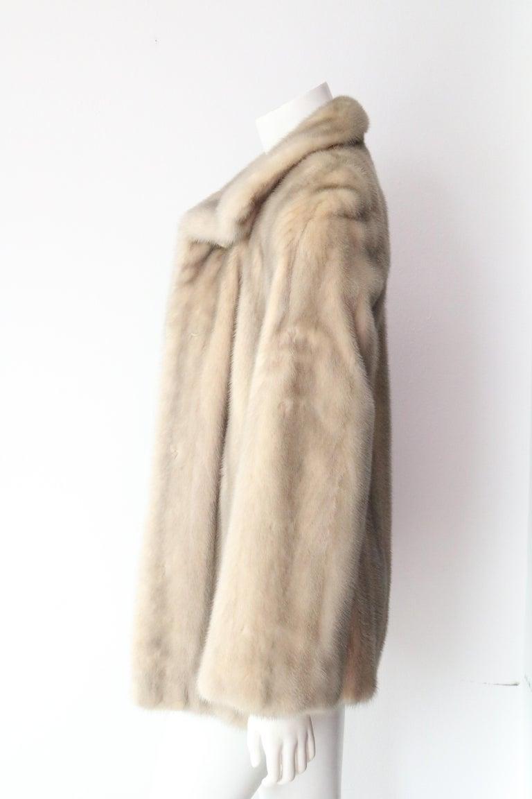 Beige Saga Furs  For Sale