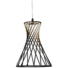 Sagrada Pendant 30.0 Lighting Fixture, Powdercoated Textured Gold by Mtharu