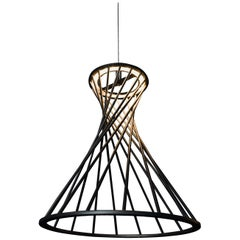 Sagrada Pendant 60.0 Lighting Fixture, Powdercoated Textured Gold by Mtharu
