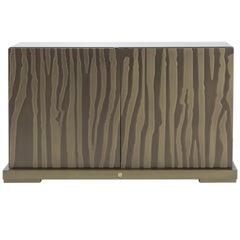 Sahara Cabinet in Wood by Roberto Cavalli