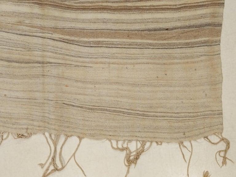 Sahara Desert Design Vintage Moroccan Berber Kilim For Sale 2