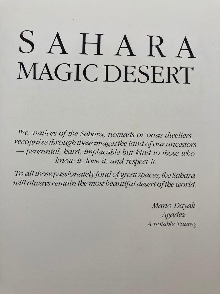 African SAHARA Magic Desert Hardcover Book For Sale