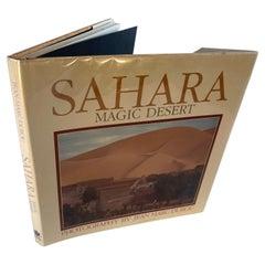 SAHARA Magic Desert Hardcover Book