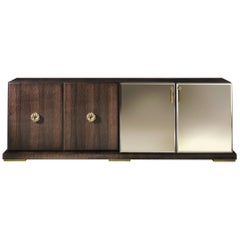 Sahara.3 Sideboard with 4-Doors in Wood by Roberto Cavalli