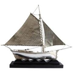 Saiboat White Metal