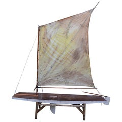 Sailboat, full size, no toy, Hand Built in 1948 by Returning WW II D-Day Veteran