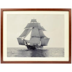 Sailer, Only One Copy Taken from the Original Photographic Plate