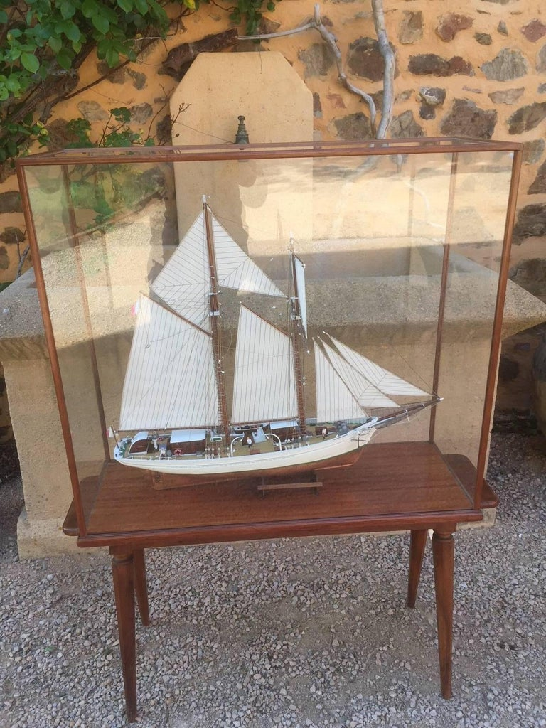 French Sailing Ship Model Called