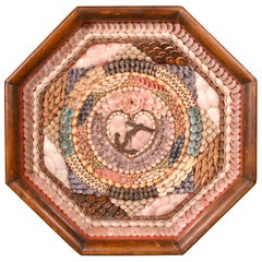 Sailor's Valentine of Large Hexagonal Form, circa 1875
