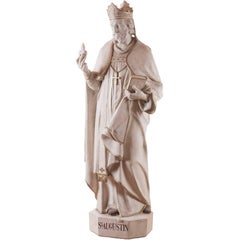 Saint Augustine, Terra Cotta, 19th Century